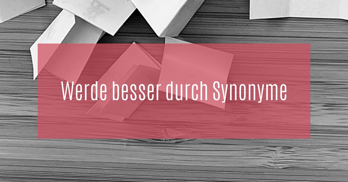 Synonyme im Deutschen