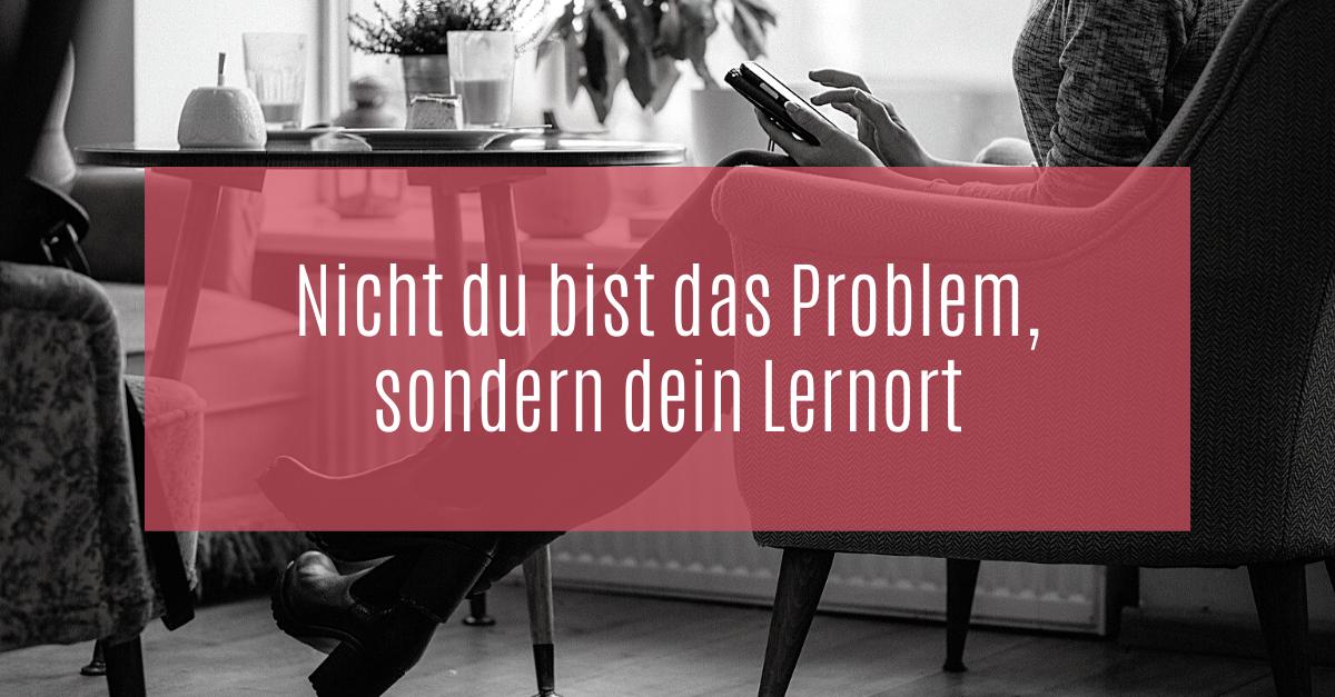 Der Lernort Café eignet sich auch zum Lernen.